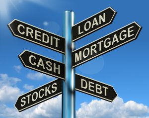finance debt borrow money loan credit